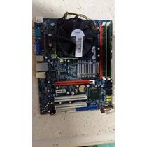 Placa Mãe Ecs G31t-m7 775 Com Core 2 Quad E 4gb Memoria.
