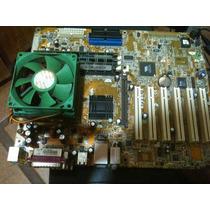 Placa Mãe Asus A7v8x-x + Processador E Memória