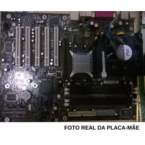 Placa Mãe D865perl Pentium 4 Ht 3.0 + 2gb Ram