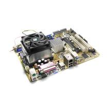 Placa Mãe Asus Kbv-vm+processador Athlon64+cooler Dissipador