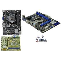 Placa Mãe Lga 1155 Usb 2 Sata Processador Dual Core I3 I5 I7