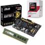 Kit Asus Am1m-a/br + Amd Athlon 5150 Quad Core + 4gb Memória