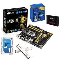 Kit Asus B85m-e + I7-4790 + 16gb Hyperx + Hd 1tb + Ssd 120gb