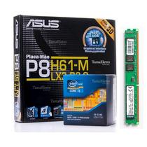 Kit Asus P8h61 + Cpu Intel I3-3240 + Mem 8gb Kingston
