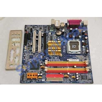 Kit Placa Mãe Gigabyte Ga945gm-s2 775 Ddr2 + Proc P4 3.0