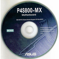 Cd Drivers Original Placa Mae Asus P4s800-mx
