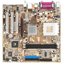 Placa Mãe Asus A7v400-mx Se Chipset Via Socket 462