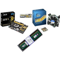 Kit Asus H81m-a/br + Intel I5-4690 + Memoria Kingston 8gb