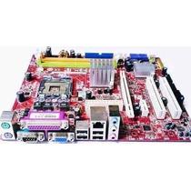 Placa Mãe Intel 775 Ddr2 Positivo Pos-ag31ap + 2 Brindes !!!