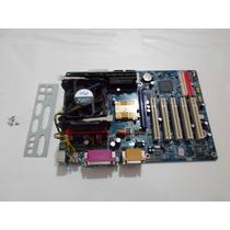 Kit: Gigabyte Ga-ga8ie800 +processador+memoria+cooler