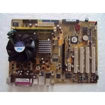 Kit Placa Mãe Asus P5vd2-x Lga775 P4 3.2ghz Processador, Coo