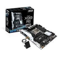 Placa-mãe Asus X99-pro Lga2011-v3 C/ Chip X99 & Mem Ddr4