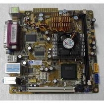 Placa Mãe Ddr2 667mhz C/ Proc. Pcware Ipxlp-mb Dc Usada.