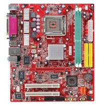Placa Mãe Msi Pm8m3-v Lga 775 + Pentium 4