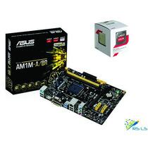 Kit: Placa Mãe Asus Am1m-a/br + Processador Amd Athlon 5150