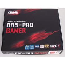 Placa-mãe Asus B85-pro Gamer Lga1150 Intel B85 Supreme Fx!!!