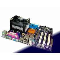Kit Placa Mãe 478 P4 + 512mb + Hd 40 +fonte