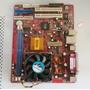 Placa-mãe Pc-chips M810dlu + Processador Athlon Xp 2000+