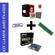 Kit Asus M5a78l-m Lx Fx- 8320 Vishera 4.0 Ghz Max 16 + 4 Gb