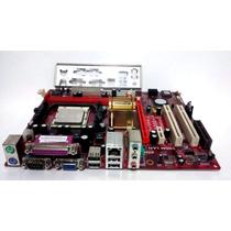 Placa Mãe Pcchips A33g V1.0 + Proc Amd Athlon 1600 Am2