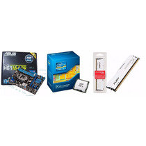 Kit Asus H61m-a/br Lga 1155 + Core I5-3330 + 8gb Hyperx Fury