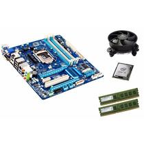 Kit Ga-q77-d2h Lga1155 + Intel I5 + Mem 8 Gb Ddr3 + Cooler