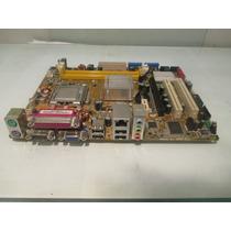 Placa Mãe Asus P5gc-mx Intel Ddr2 775 (defeito Usb E Rede)