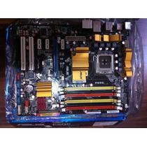 Placa Mãe Asus P5qc - 8gb Ddr3 / 16gb Ddr2 / Core 2 Duo/quad