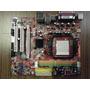 Placa Mãe Msi K9n6sgm-v Ms-7309 Am2 Gf6100 Ddr2 Garantia
