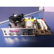 Kit Placa Mãe Asus P5gc-mx, Processa. Celeron E3400 2.6ghz
