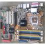 Placa Mãe Asus P5gdc De Luxe Socket 775 Ddr1 E Ddr2 C/dfeito