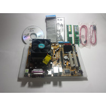 Placa Mãe Asus Am2 M2n-mx Se Kit(proces. Atlon 64 X2 E Mem.)