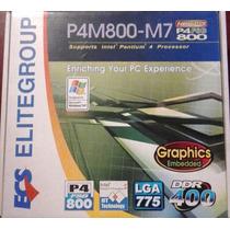 Placa Mãe Ecs P4m800-m7 Socket 775 Novo Na Caixa