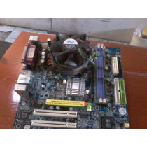 Placa Mãe Ga-8s661fxm-775 + P4 2.80 Ghz + Cooler