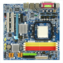 Placa Mãe Gigabyte Ga-ma69vm-s2 Ddr2 Socket Am2 Am2+ Amd