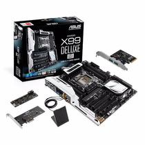 Placa-mãe Asus X99-deluxe/u3.1 Lga2011-v3 C/ Chip Intel X99
