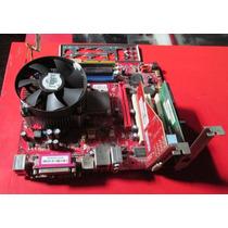 Placa Mãe Pm8pm-v C/processador /512mb Memória 775 - Ddr2