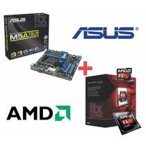 Kit Asus M5a78l-m Lx + Processador Bulldozer X6 Fx-6300, Nov