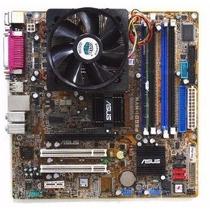 Kit Placa Mãe 775 Asus + Pentium 4 775 + 2gb 400mhz + Cooler
