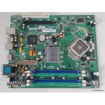 Placa Mãe Lenovo Thinkcentre M58 Fru 03t7032 Lga 775 Defeito