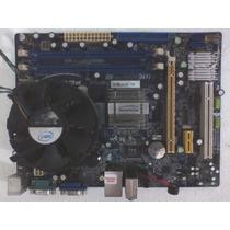 Kit Placa Pcware Pw-945gcl 775 Sata Ddr2 Usacore2duo Pci-ex