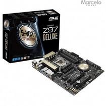 Placa Mãe Asus Atx Intel Lga 1150 Z97-deluxe Original