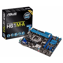 Placa Mae Asus Intel H61m-a (intel 1155/ Svr/ddr3/dvi/hdmi)