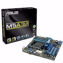 Placa Mãe Asus M5a78l-m/usb3 P Socket Am3/am3+ Fx 140w Ddr3