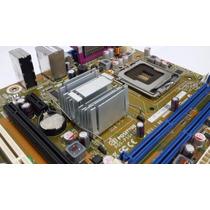 Kit Placa Mãe Possitivo 775 Ddr3 Pos Pig41bo + Pentium 2.8!!