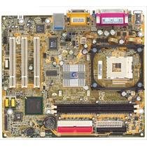 Kit Placa Mãe Gigabyte Ddr Ga-8vd 478 + Pentium 4 + 2gb Ram