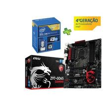 Kit Gamer Intel I5 4690k + Msi Z97-gd65 Gaming Ddr3 3300mhz