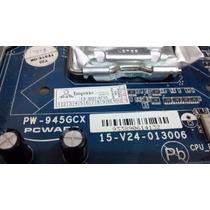 Pl Mae Socket 775 Ddr2 Pcware Pw-945gcw C/espelho