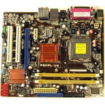 Placa Asus P5kpl Am Com Processador Core 2 Quad E Cooler