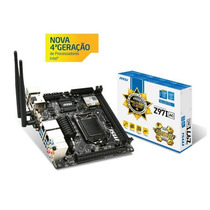 Placa Mae Msi Z97i Ac Mini Itx Ddr3 Raid Wi-fi Bluetooth